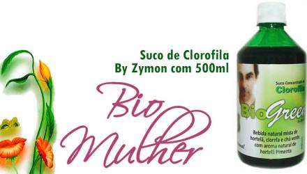 Suco de Clorofila - Bio Mulher