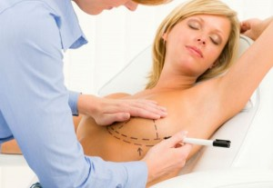 implante de silicone nas mamas