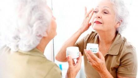 limpeza de pele na terceira idade