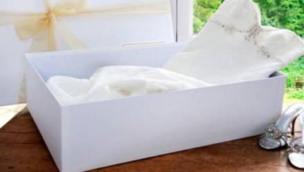 Cuidados com o vestido de noiva antes do casamento