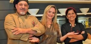 Chef Marco Donato, Annie Scarpin e Lucia Gagliasso