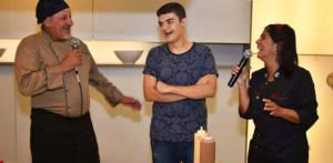 Chef Marco Donato, Lucas Gagliasso, Chef Lucia Gagliasso