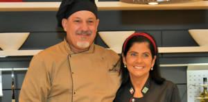 Chefs Marco Donato e Lucia Gagliasso