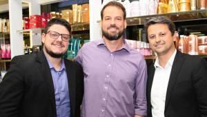 Rodrigo Neto, Marcelo Ferreira e Sandro Amboni