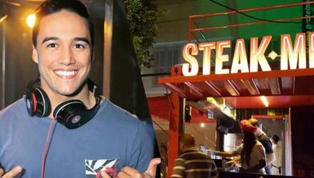 DJ Mel Angelim no STEAK RIO