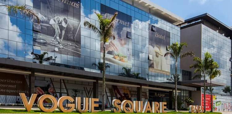 Ikebanas no Vogue Square