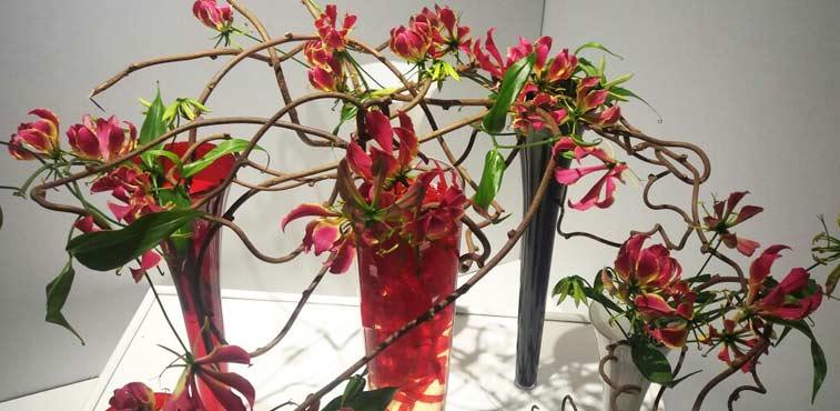 Ikebanas no Vogue Square RJ