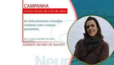 Campanha câncer de colo do útero
