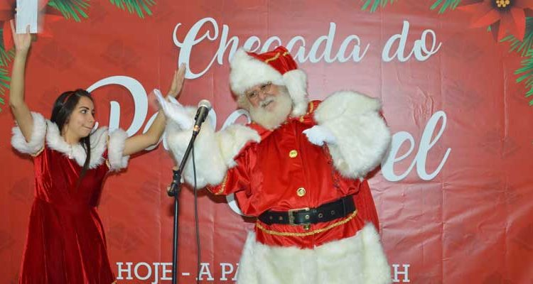 Papai Noel no Via Brasil Shopping