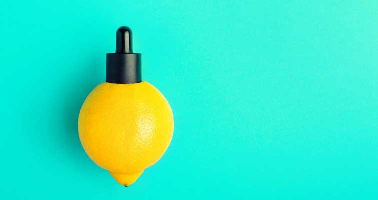 Benefícios de um sérum de vitamina C