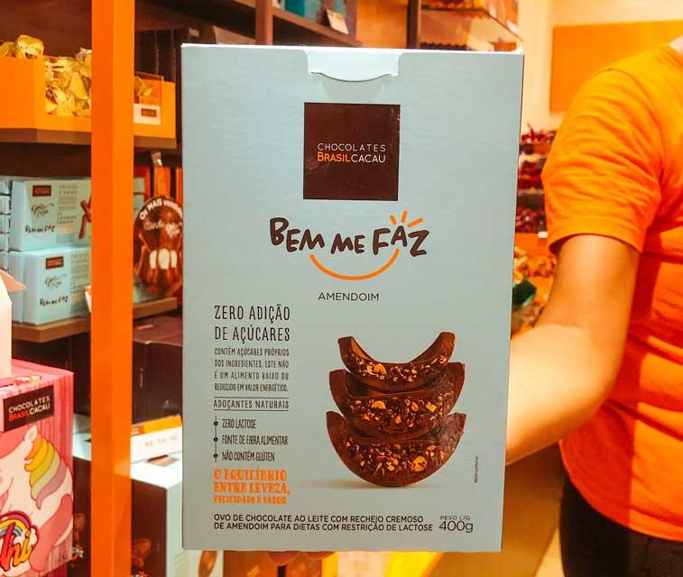 loja que vende chocolate