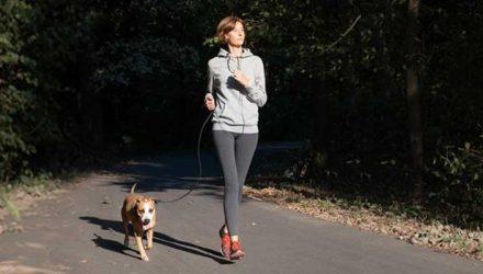 beneficios de fazer exercicio com cão