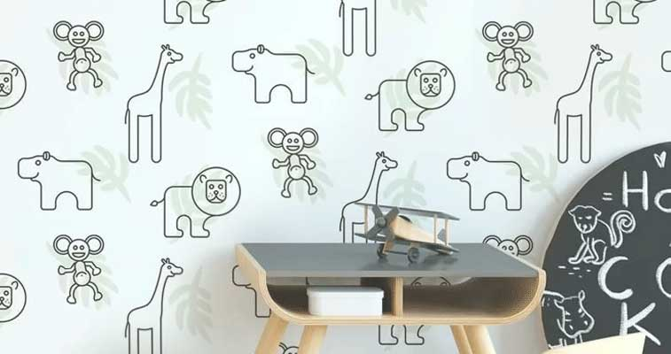 decorar casa com papel de parede